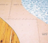James Hardie™ vinyl and cork underlay