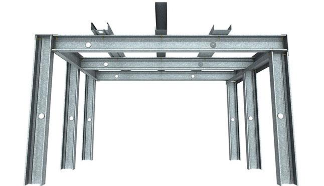 Rondo Steel Stud Track Drywall Ceiling System Bayside